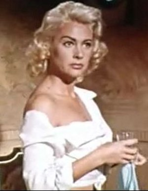 Martine Carol - from the trailer for Action of the Tiger (1957)