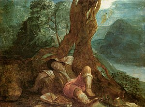 Adam Elsheimer - Jacob's Dream - WGA7493