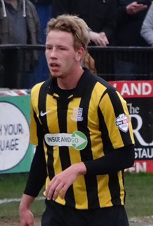 Adam Thompson - Thompson playing for Southend United in 2014