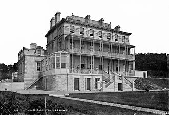 Benedictine Convent (Cobh) - The building in the 1880s