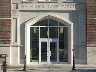 Adron Doran University Center - Front entrance