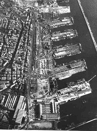 Sampierdarena - The port nears completion