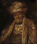 Aert de Gelder - Portrait of an Oriental Man KMS1637.jpg