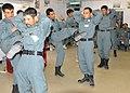 Afghan police NCOs demonstrate self-defense moves at Kandahar Regional Training Center 2.jpg