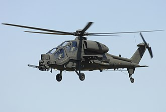 Agusta A129 Mangusta - The Agusta A129 Mangusta over Lugo, Emilia-Romagna
