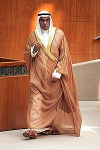 Ahmed AL-Sadoun in Abdullah AL-Salem Hall.jpg