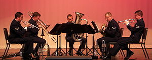 Air Force Brass Quintet.JPG