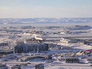 Iqaluit Airport - Airbus A380 at Iqaluit