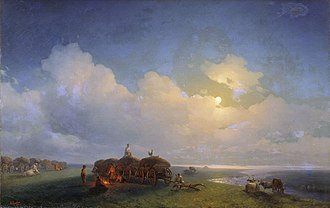 Chumak - Chumaks on the break, Ivan Aivazovsky