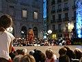 Ajuntament - Arribada de la xambanga de gegants P1160526.JPG