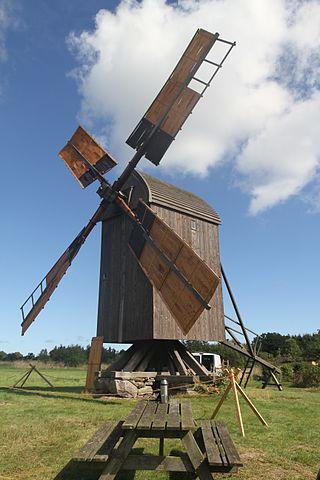 Egeby Mølle på Bornholm