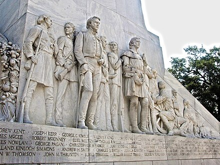 Closeup of the Alamo defenders Alamo Memorial 15L.jpg