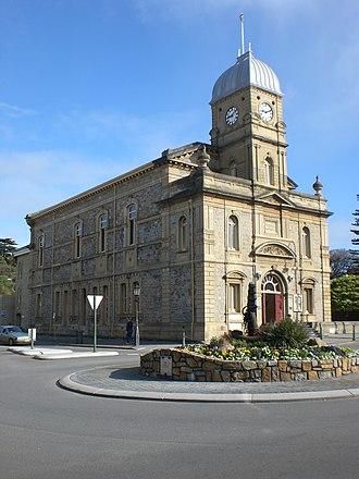 Albany Town Hall (Western Australia) - Albany Town Hall facing York Street