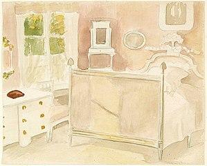 Interiööri taiteilijan kotoa