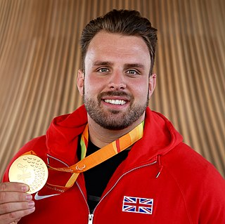 Aled Davies (field athlete) Welsh Paralympic athlete