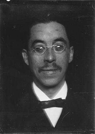 Arnold Aletrino - Aletrino in 1891  (photo by Willem Witsen)