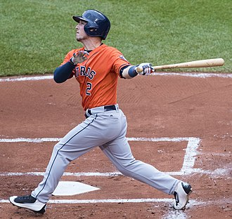 Alex Bregman - Bregman with the Astros in 2016