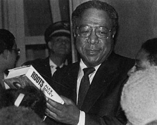 Alex Haley American writer