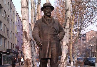 Alexander Mantashev - The statue of Alexander Mantashev in Yerevan