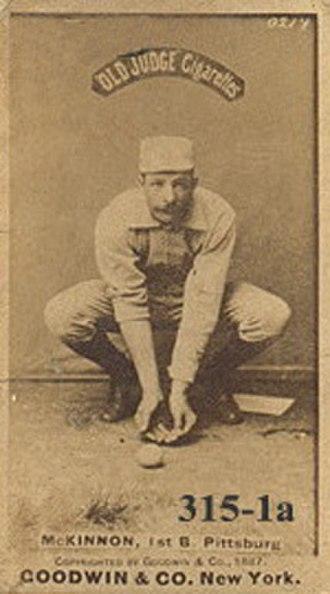 Alex McKinnon (baseball) - Image: Alex Mc Kinnon (baseball)