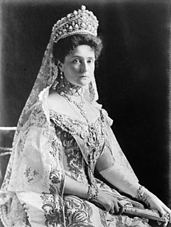 Alexandra Feodorovna (Alix of Hesse) wife of Nicholas II of Russia