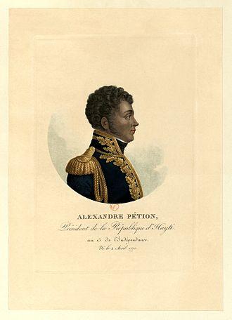 Alexandre Pétion - Alexandre Pétion