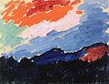 Alexej von Jawlensky Rote Wolke 1910.jpg
