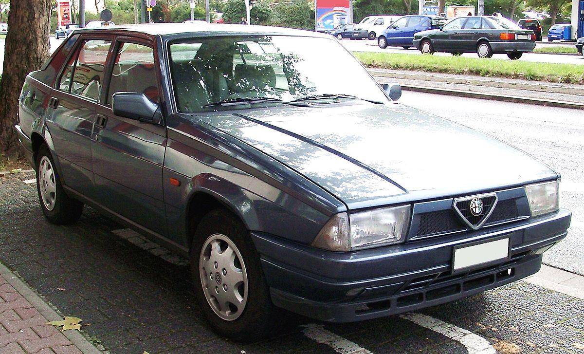 Alfa Romeo 75 Wikipedia Wolna Encyklopedia