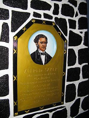 Alfred Saker - Alfred Saker monument