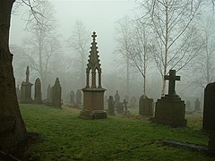 All Hallows Churchyard, Kirkburton - geograph.org.uk - 379522.jpg