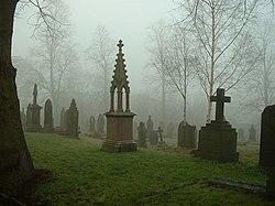 All Hallows Churchyard, Kirkburton - geograph.org.uk - 379522.jpg