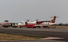 Alliance Air Aircraft at Bilaspur Airport 566836888.png