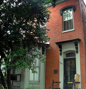 Alma Thomas - Alma Thomas House in Washington, D.C. Where Alma lived until her death.