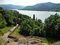 Alsóvár a kapu illetve a Duna felé nézve, Visegrád, Hungary - panoramio (42).jpg