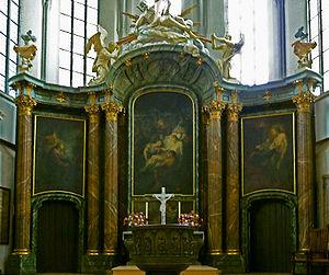 Bernhard Rode - Altar pictures Marienkirche Berlin