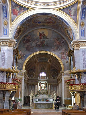 Vigevano Cathedral - High altar