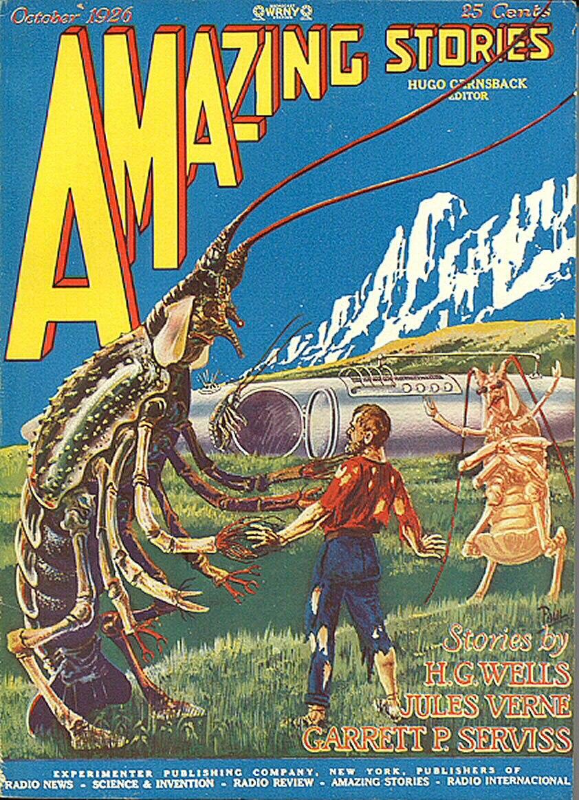 Amazing Stories October 1926