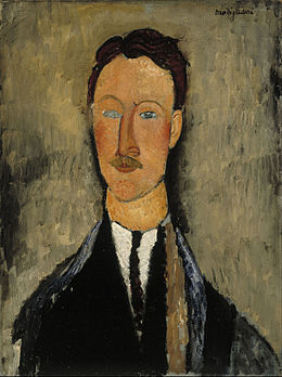 Amedeo Modigliani - Portrait of the Artist Léopold Survage - Google Art Project.jpg