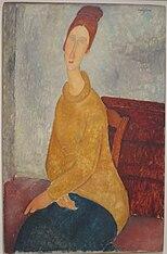 Jeanne Hébuterne (Le sweater jaune)