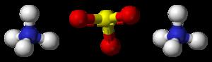 Ammonium sulfite - Image: Ammonium sulfite 3D balls