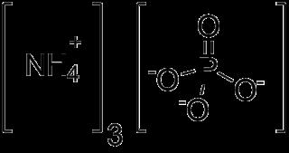 Ammonium phosphate chemical compound