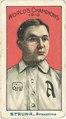 Amos Strunk, Philadelphia Athletics, baseball card portrait LCCN2007683829.tif