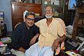 Amrit Gangar with Sushil Kumar Chatterjee - Kolkata 2017-02-23 5520.JPG