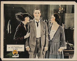<i>An Old Sweetheart of Mine</i> 1923 film directed by Harry Garson