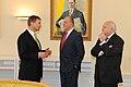 Andrus Ansip, Juan Carlos I, Miguel Ángel Moratinos.jpg