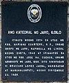 Ang Katedral ng Jaro, Iloilo historical marker.jpg