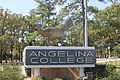 Angelina College sign, Lufkin, TX IMG 3921.JPG