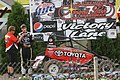 Angell Park 2013 USAC Midget Caleb Armstrong fast qualifier.jpg