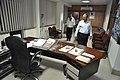 Anil Shrikrishna Manekar And Ganga Singh Rautela Entering Director Generals Office - NCSM - Kolkata 2016-02-29 1788.JPG