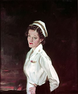 Ann A. Bernatitus wartime nurse
